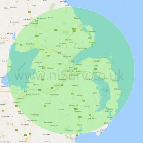Surveys within 25 miles of Belfast